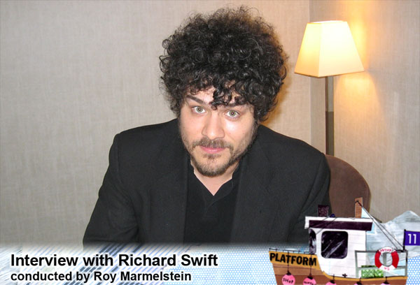 IMG RICHARD SWIFT, American Singer, Songwriter, Multi-Instrumentalist